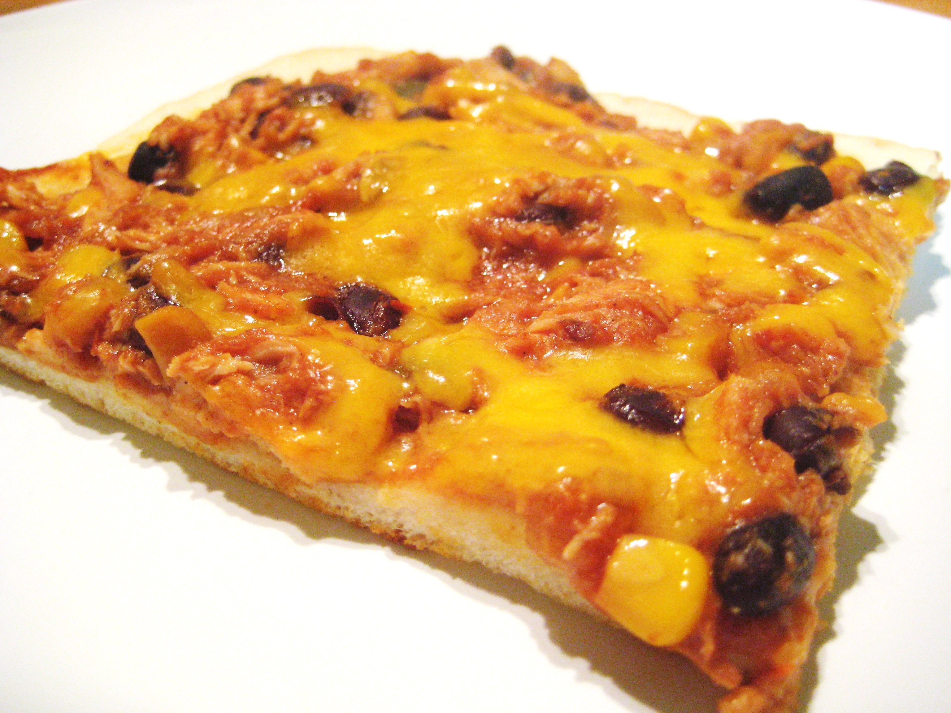Mexican Chicken Pizza - Jillian's Kitchen  5 Points+ per slice