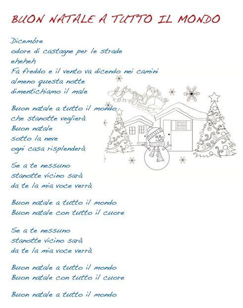 Natale Per Tutti Testo.Natale Per Tutti Testo Canzone Natale Buon Natale Canzone