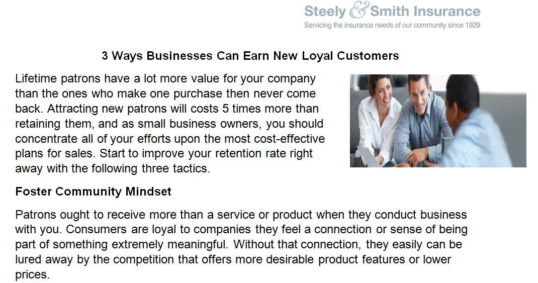 Technique How To Earn New Loyal Customers In Business Doylestown