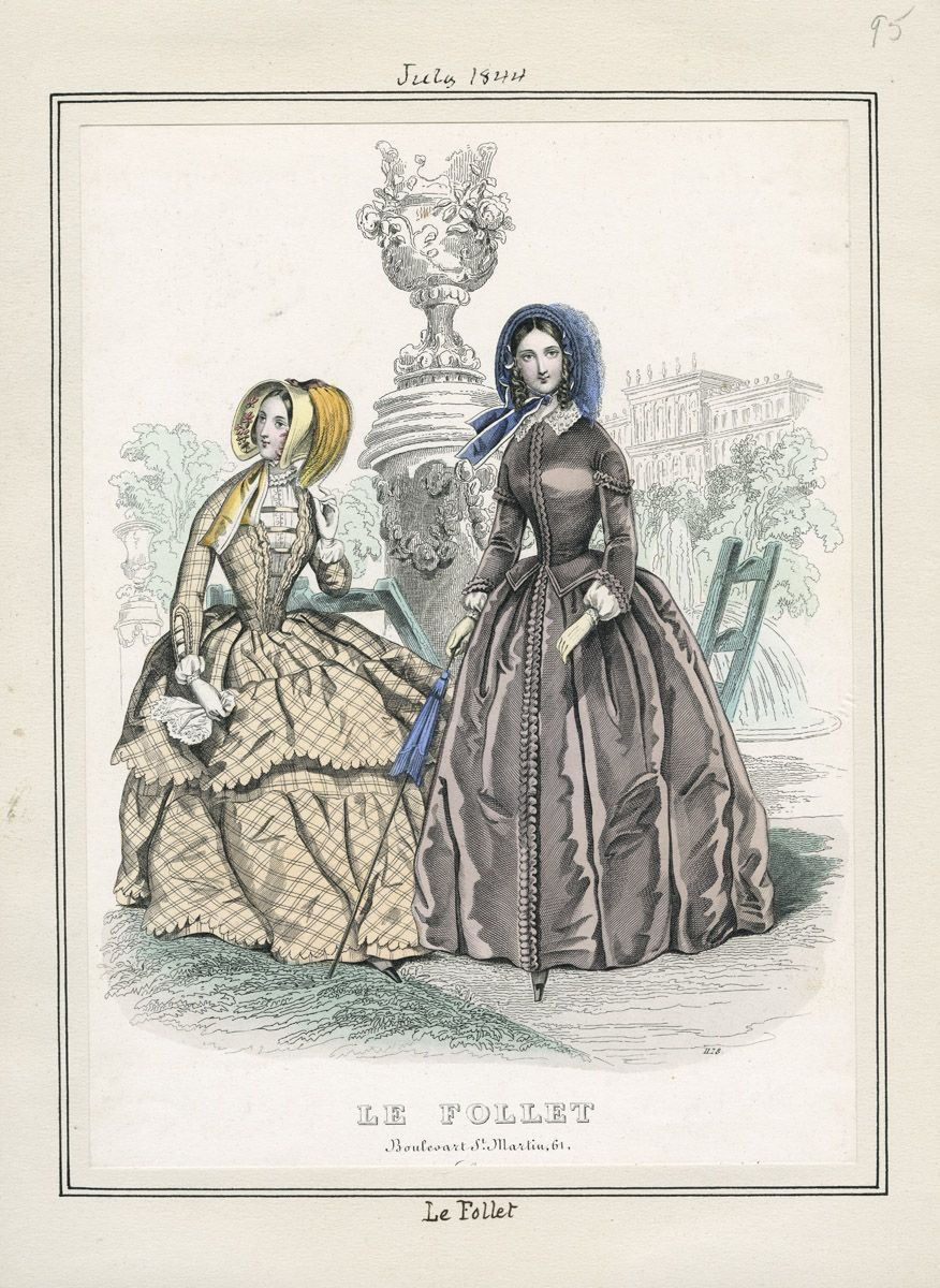 Le Follet July 1844 LAPL