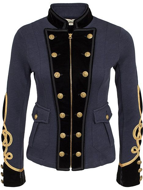Officer Jacket - Denim & Supply Ralph Lauren - Marine - Jakker - Tøj - Kvinde - Nelly.com