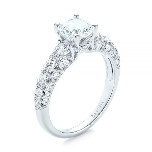 Diamond Engagement Ring Dream wish wedding rings Pinterest