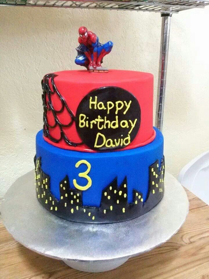 Spiderman Cake By Cakes Gabriela Of Houston TX