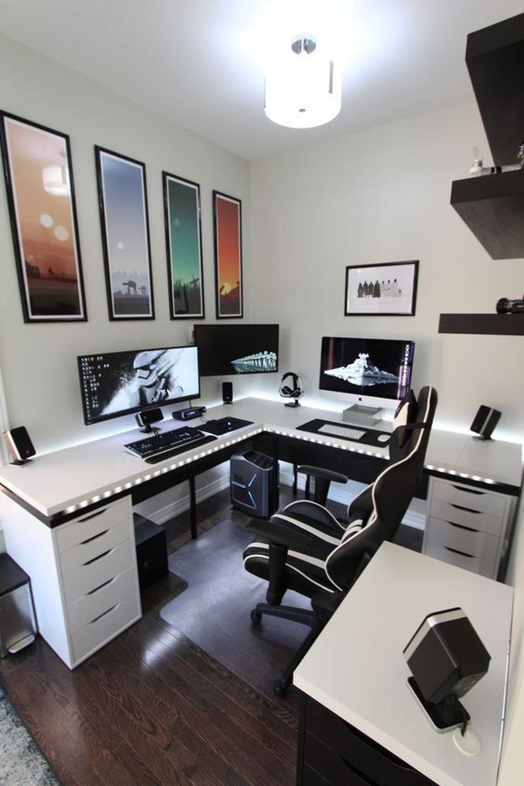 The Best Gaming Desk Decor Ideas With Computer Setup 28 https