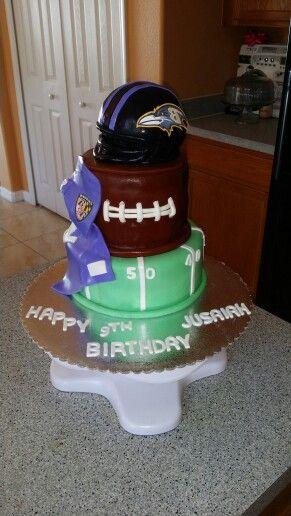 Football Cake.... #Ravens