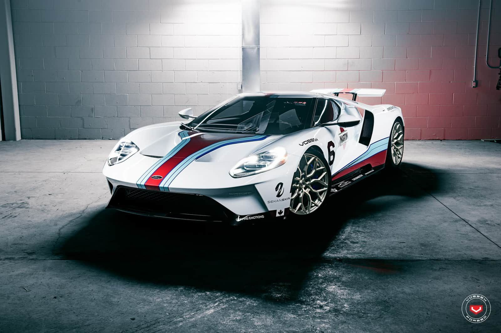 This Ford Gt Takes The Martini Livery To The Next Level Ford Gt