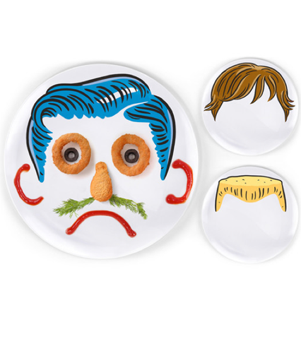 Fred & Friends DINNER DO'S PLATES - SET OF 3 at Shop Jeen | SHOP JEEN
