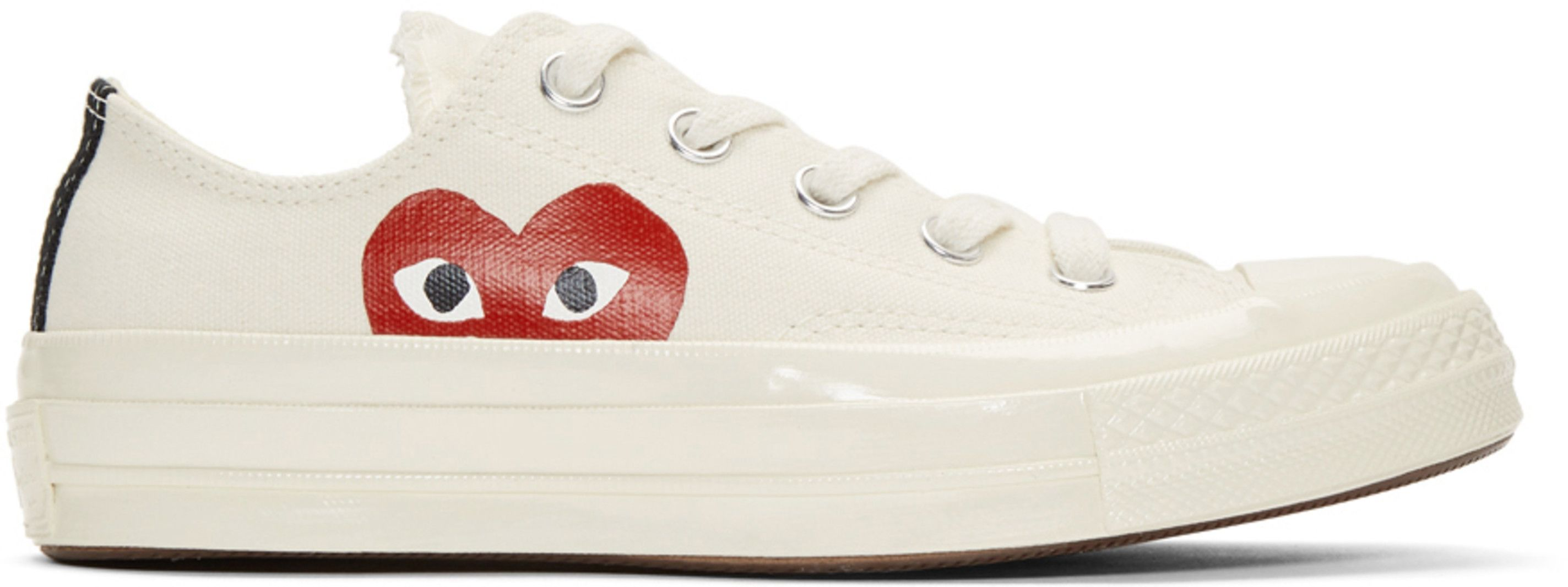 a7a4fa29aa9273 Comme des Garçons Play - Off-White Converse Edition Half Heart Chuck Taylor  All-Star  70 Sneakers