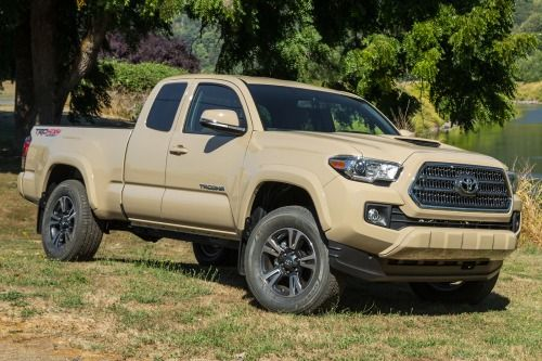 Toyota Trucks For Sale Near Me >> 2016 Toyota Tacoma Trd Off Road Extended Cab Pickup Exterior