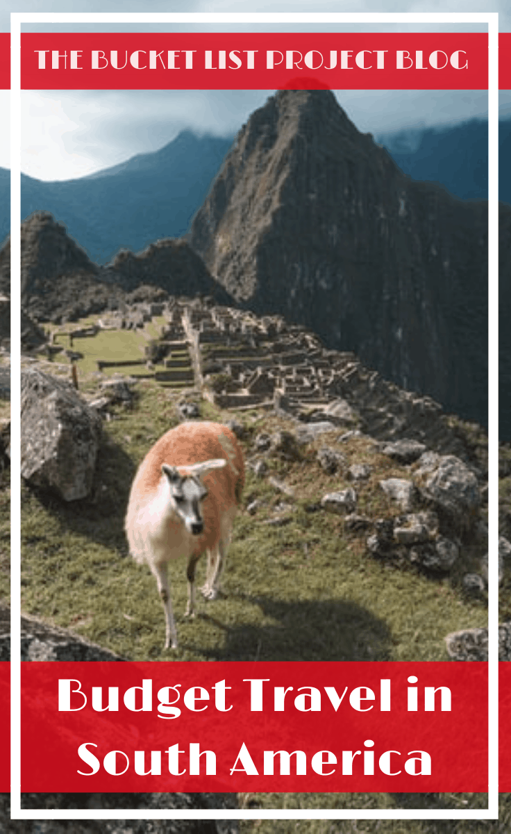 Looking for a way to travel South America on a Budget? Then discover 10 travel tips for the best ways to travel South America cheap while still having fun! #TravelTips #SouthAmerica #BudgetTravel #TravelHacks #Brazil #Peru