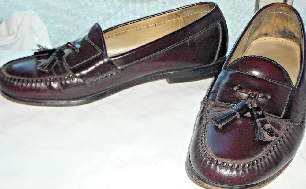 37bc99859f4 COLE HAAN CITY MENS OX BLOOD DRESS TASSELED LOAFERS 9.5 D EUC  fashion   clothing  shoes  accessories  mensshoes  dressshoes (ebay link)