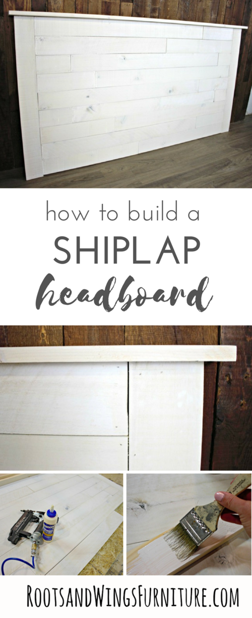 How to Make a Shiplap Headboard is part of  - Hello there! I recently refinished a few pieces of bedroom furniture for a client who wants a beachy vibe in her master bedroom (I'll show you what a difference paint can make on those pieces in another post!)  She also wanted a shiplap headboard to complete the look  So I built her one  This was one of those happy projects that was easier than I thought it would be  love those!  and it turned out to be a very doable DIY project  In fact I was so happy with how this turned out, I think I'll be making a couple of these for our new house  I used a new (to me) product  Weaber Lumber Weathered Wall Boards (from Home Depot)  I priced out raw pine and these actually were less expensive, and they were already white washed!!
