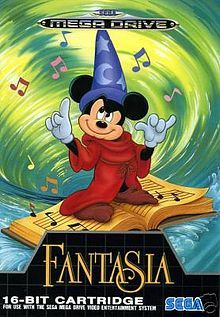 Mickey Et Donald Megadrive : mickey, donald, megadrive, Fantasia, (video, Game), Drive,, Retro, Video, Games,, Drive, Games