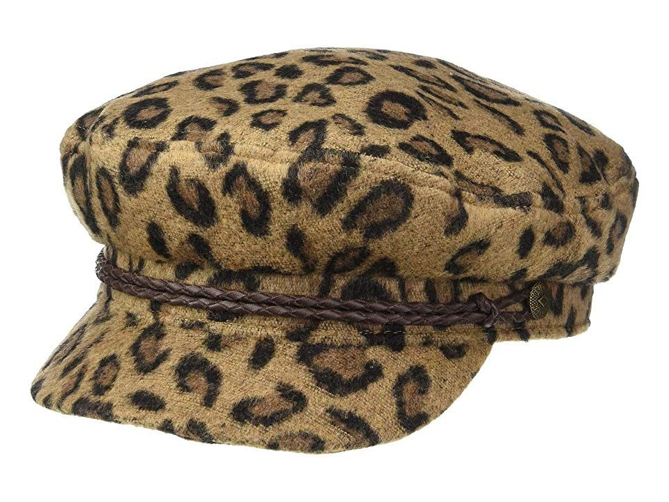 1a51bcb1d9d Brixton Fiddler Cap (Leopard) Caps. When the high seas call your name  there s