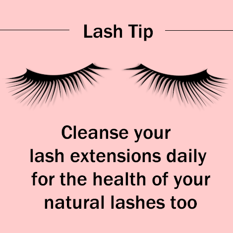 a970693fda2 Eyelash extensions don't cause bacterial infections, but improper hygiene  does. Take good