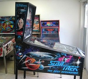 Star Trek TNG pinball.. I never knew such things existed