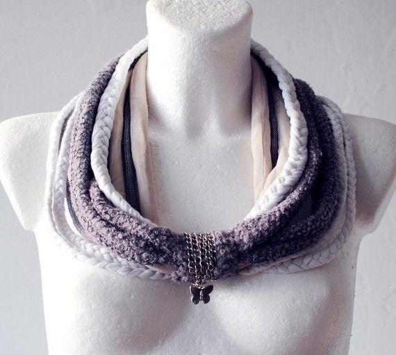 Lavender Dream Neck piece collar warmer, 28€