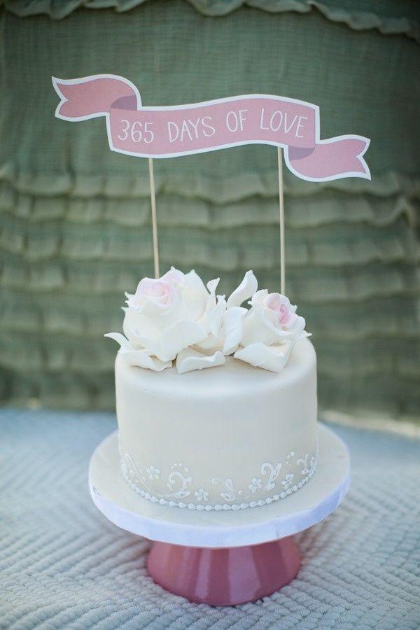 Best First Year Wedding Anniversary Gifts 1st Anniversary Cake