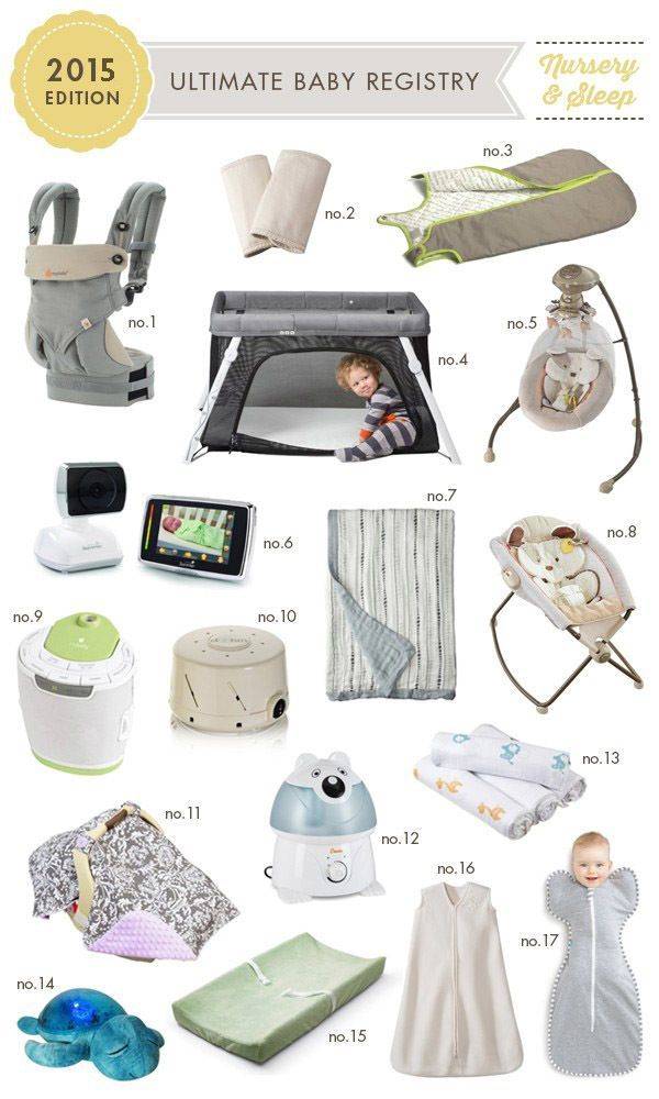 Ultimate Baby Registry 2015 Edition All the gear that this mama of - baby registry checklists