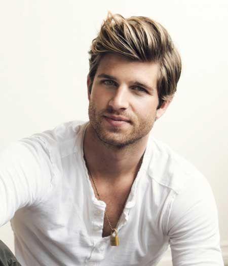 Remarkable 1000 Images About Long Blond Hair Men On Pinterest Latest Men Hairstyles For Women Draintrainus