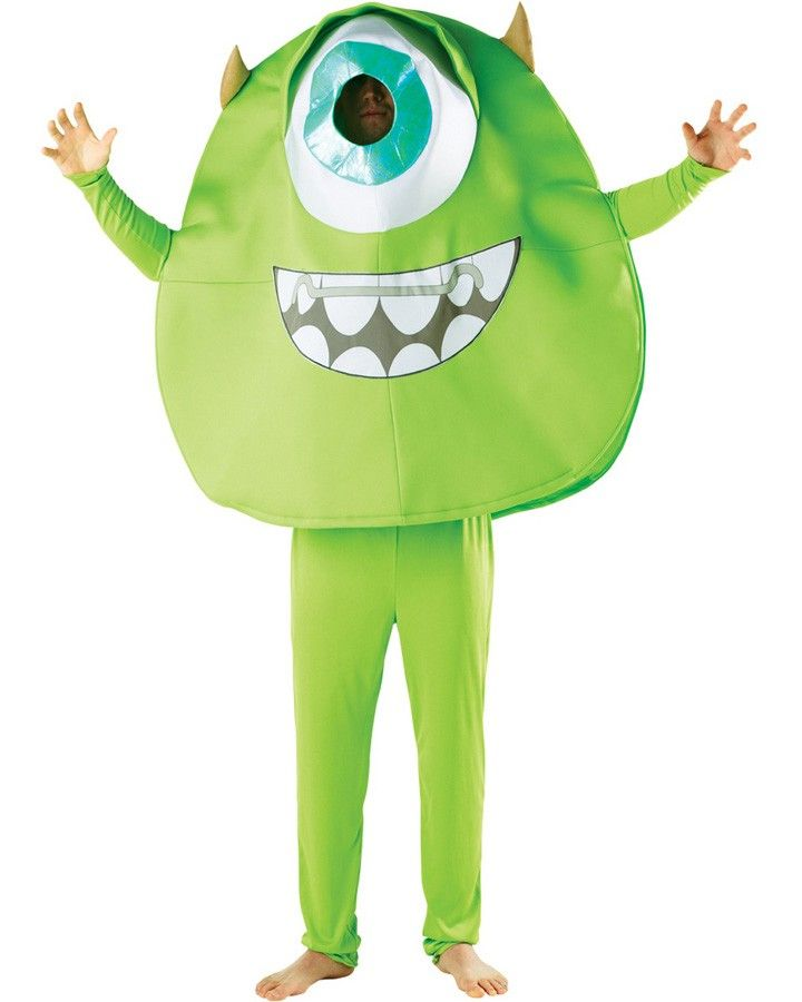 Monsters University Mike Wazowski Mens Costume Letter M ハロウィン キッズ キッズ