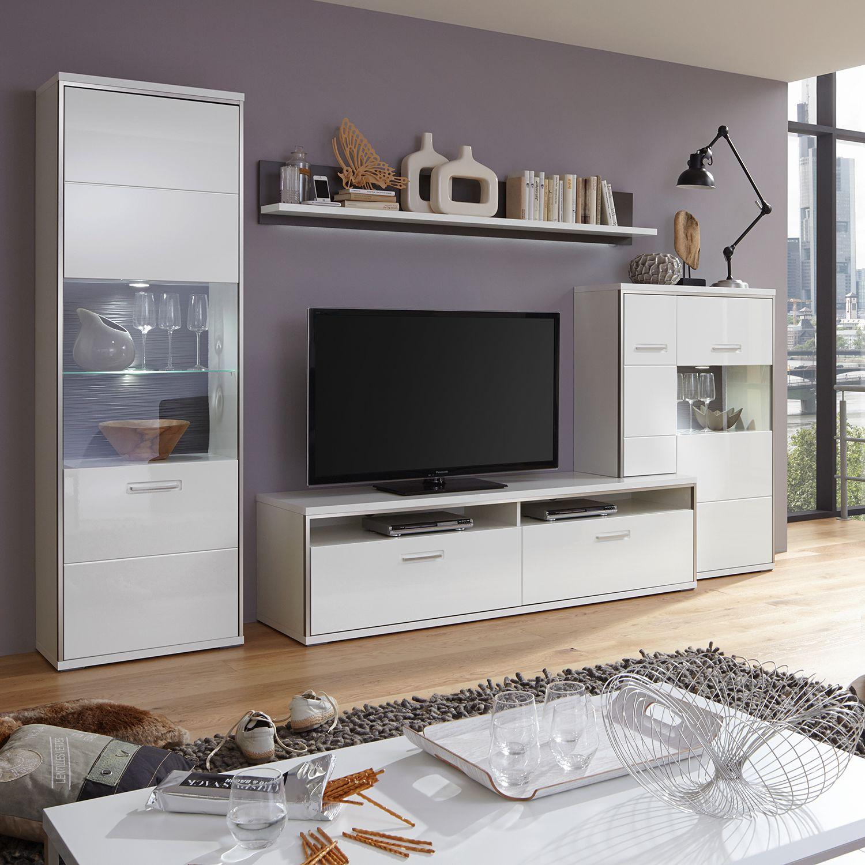 Wohnwand Arco Iii 4 Teilig Kaufen Home24 Wohnen Mobel Furs Wohnzimmer Wohnwand