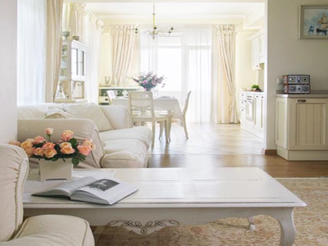 A decora o proven al uma tend ncia que est ressurgindo for Sofa estilo romantico