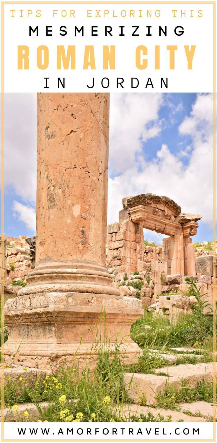 {Discovering the Roman Ruins of Jerash} #middleeastdestinations