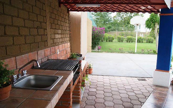Palapa con asador proyecto yerbabuena en 2018 for Casa jardin 8 de octubre
