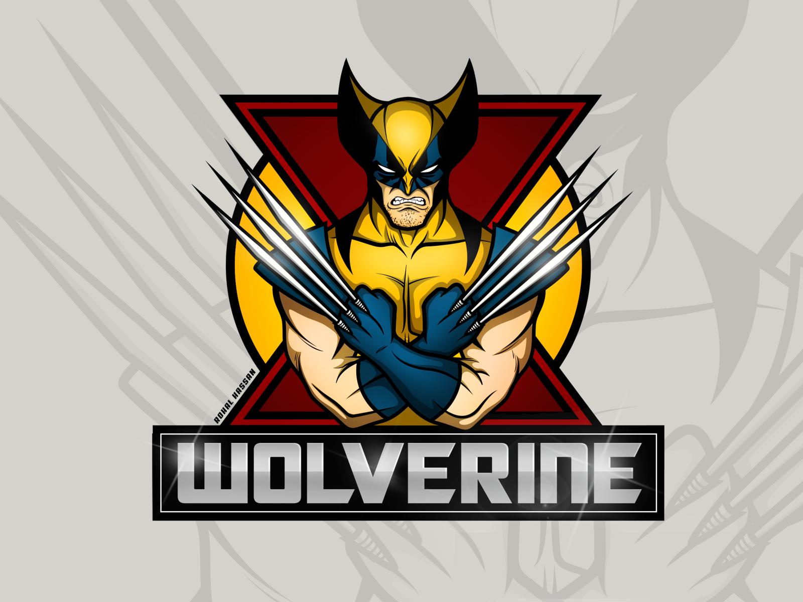 X Men Wolverine Classic Suit Logo Esports Logo Logo Ig Wolverine