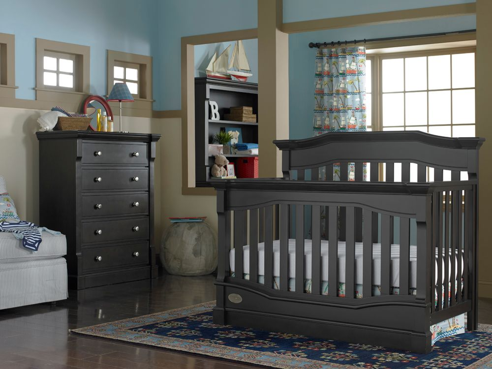 Dolce Babi | Roma Collection Convertible Crib   Espresso This Is The Crib  We Bought Today