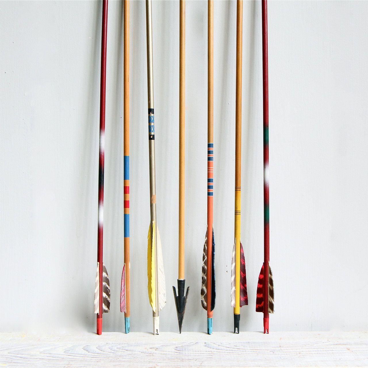 Vintage Wooden Arrows