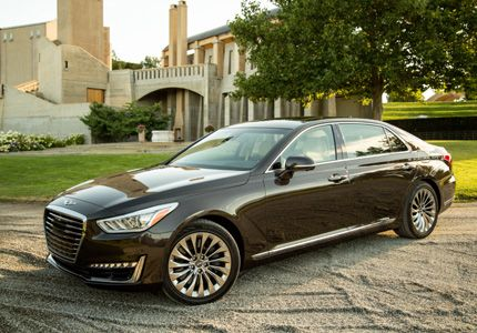 The 2017 Genesis G90 One Of Ot S Top 10 Luxury Sedans