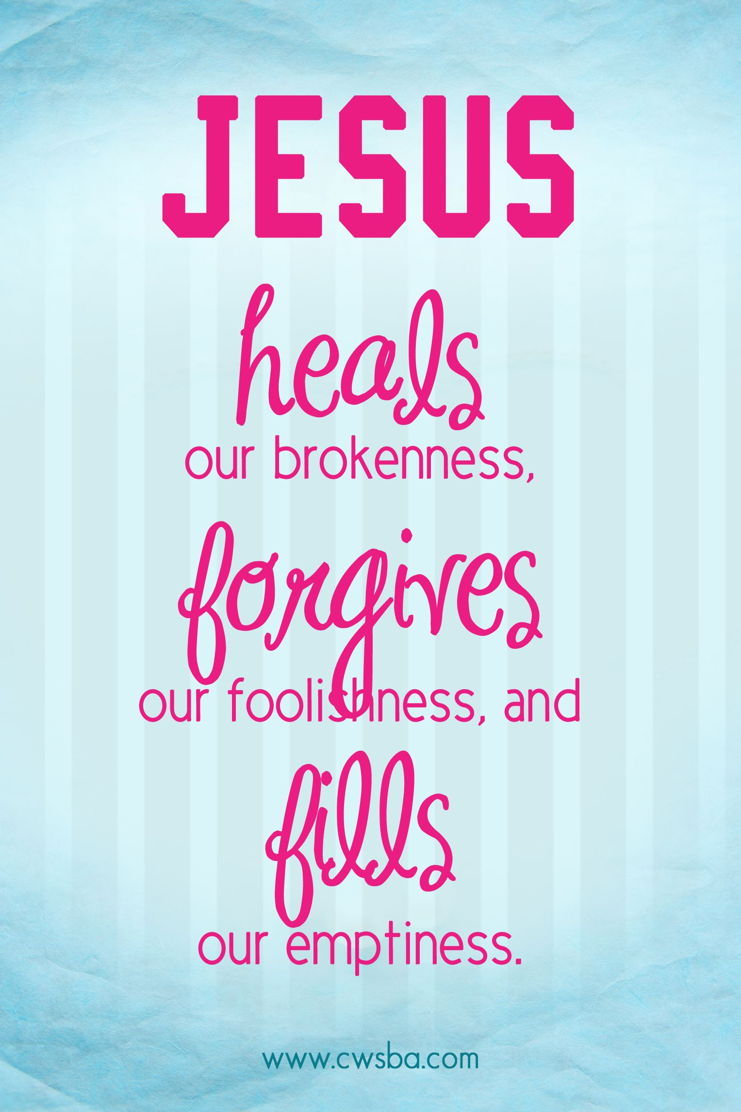 Quotes Jesus Jesus Heals Healed In Jesus' Name  Pinterest  Jesus Heals