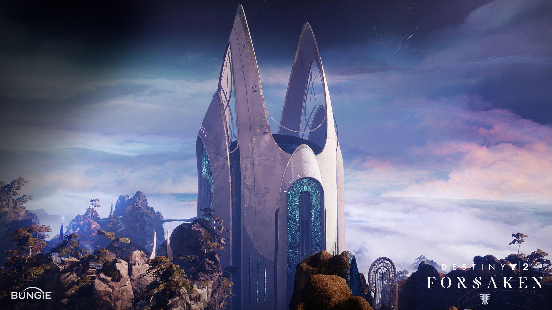 ArtStation - Destiny 2 Forsaken - Dreaming City Towers