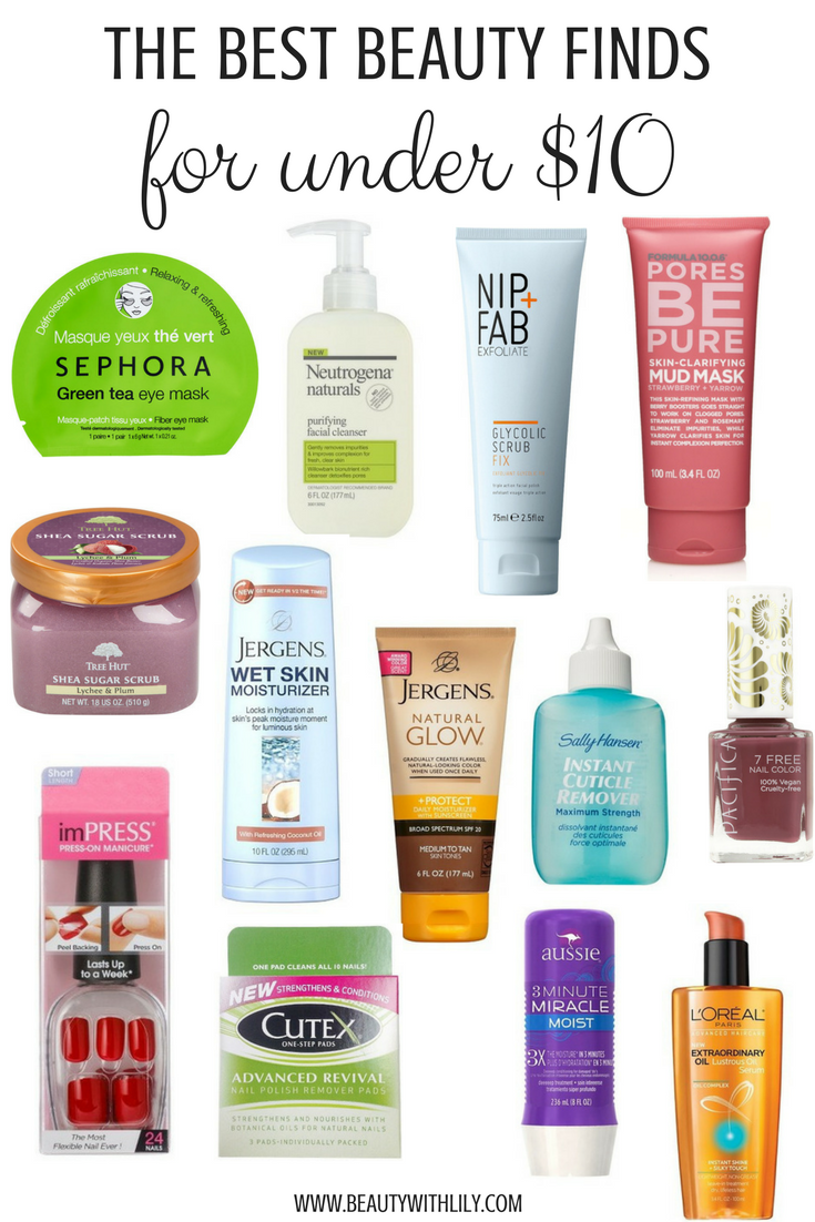Best Beauty Finds Under 10 Affordable Makeup Products Cheap Good Makeup Beautywithli Best Makeup Products Cheap Skin Care Products Affordable Makeup