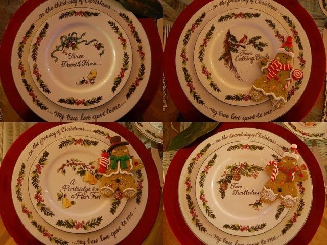 Valerie Parr Hill Twelve Days Of Christmas dinnerware set & Valerie Parr Hill Twelve Days Of Christmas dinnerware set | For the ...