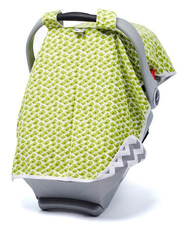 Another great find on #zulily! Sage & Gray Birdies Canopy Car Seat Cover #zulilyfinds