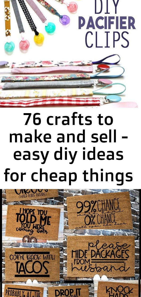 76 crafts to make and sell - easy diy ideas for cheap things to sell on etsy, online and for craf 18 #summerhomeorganization
