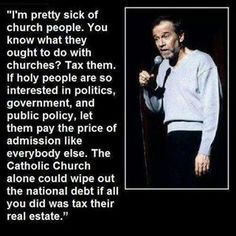 No shit! George Carlin