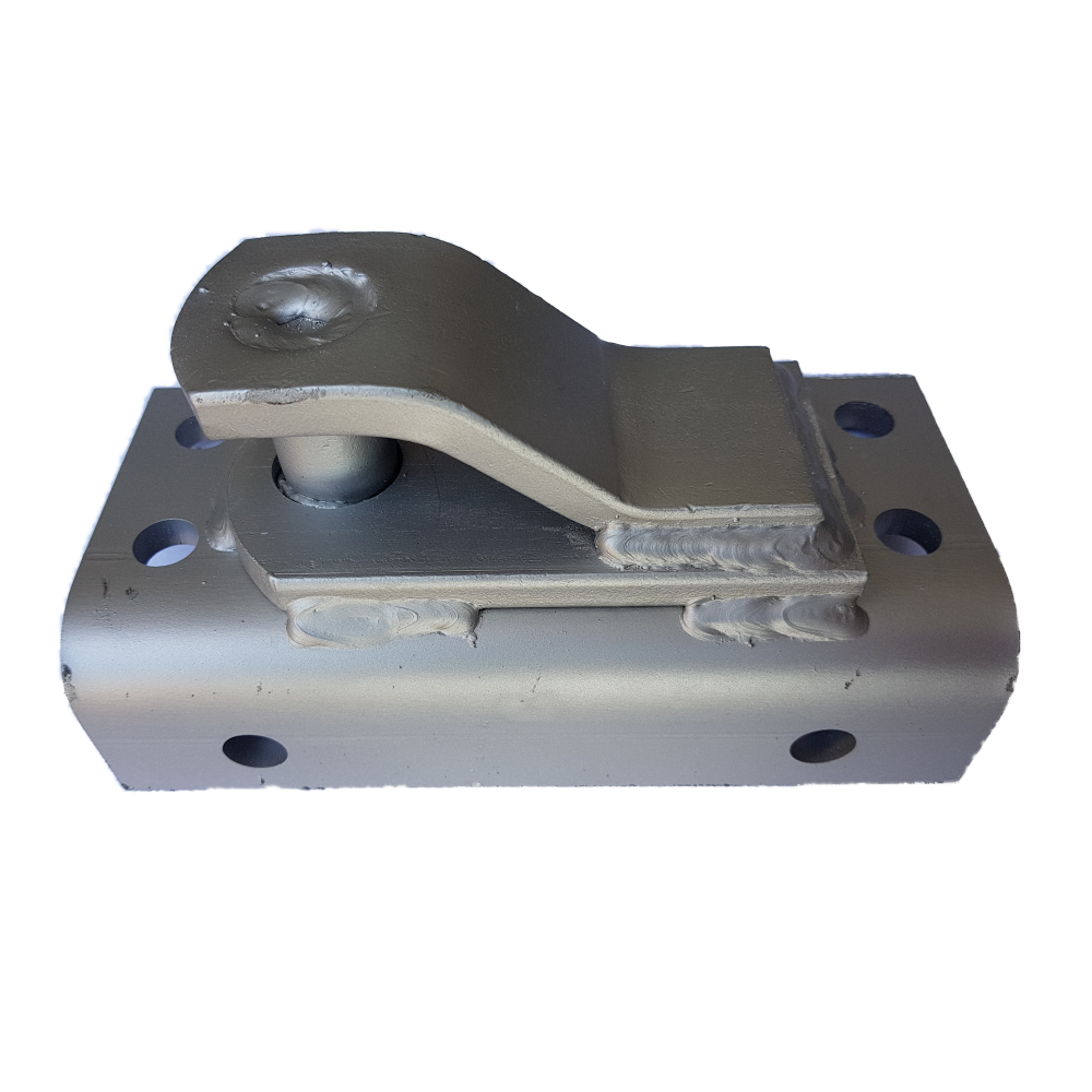 Safety Chain Holder for Aluminium Chassis Boat Trailer