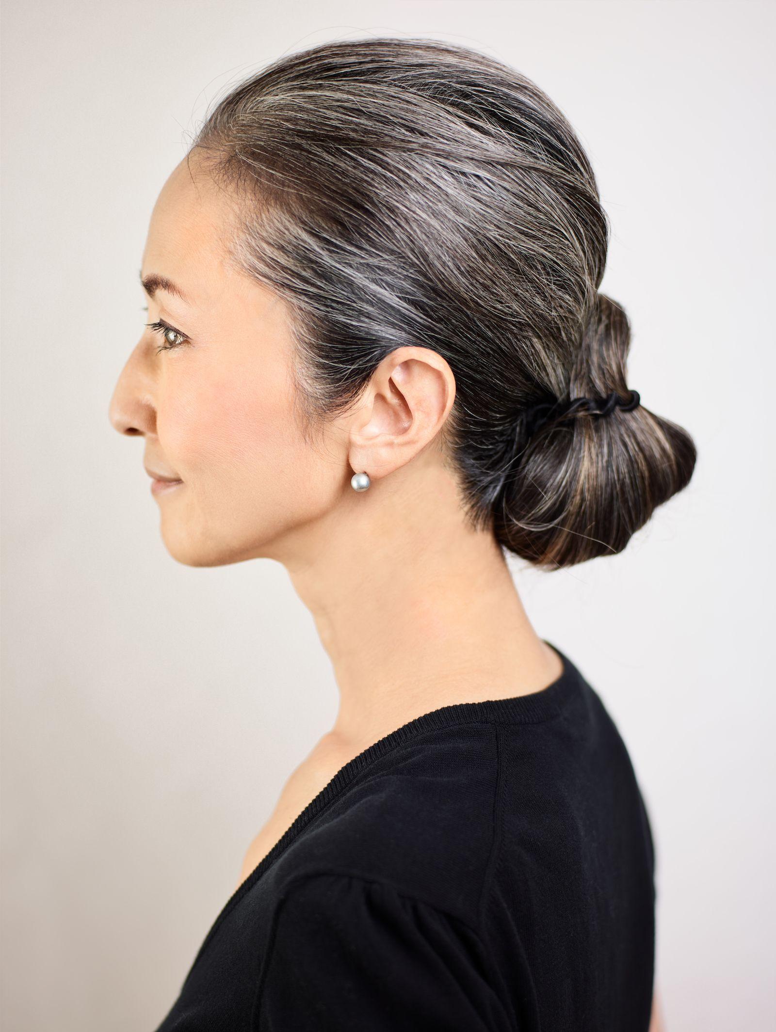 Mayuko Miyahara Grayhair.Style #afternoooflife #gray # ...
