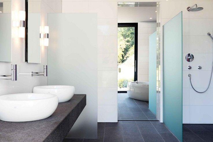 Naturverbunden Wohnen Badezimmer Design Klassisches Badezimmer