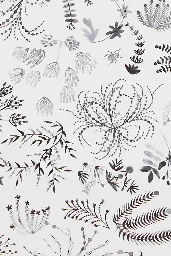Meadowfield Wallpaper Anthropologie wallpaper, Floral