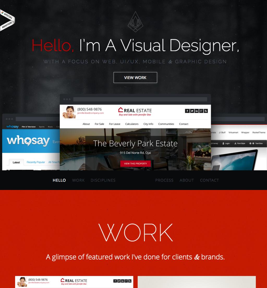 Pin by melantha padop on Web Design NY | Portfolio web