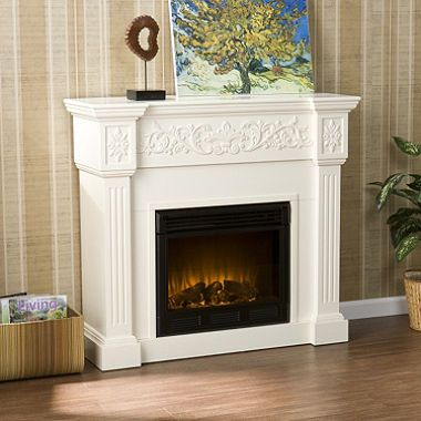 Sam S Club Faux Fireplace 396 White Electric Fireplace