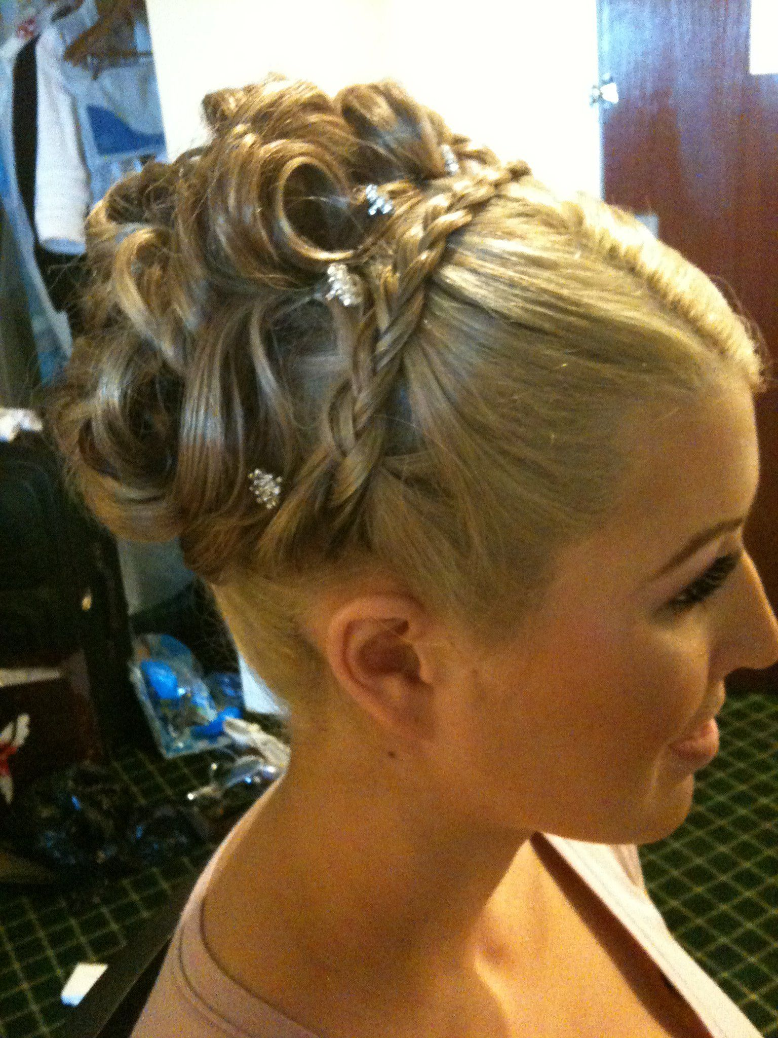 Heathers Maid Of Honor My Hairstyles My Passion