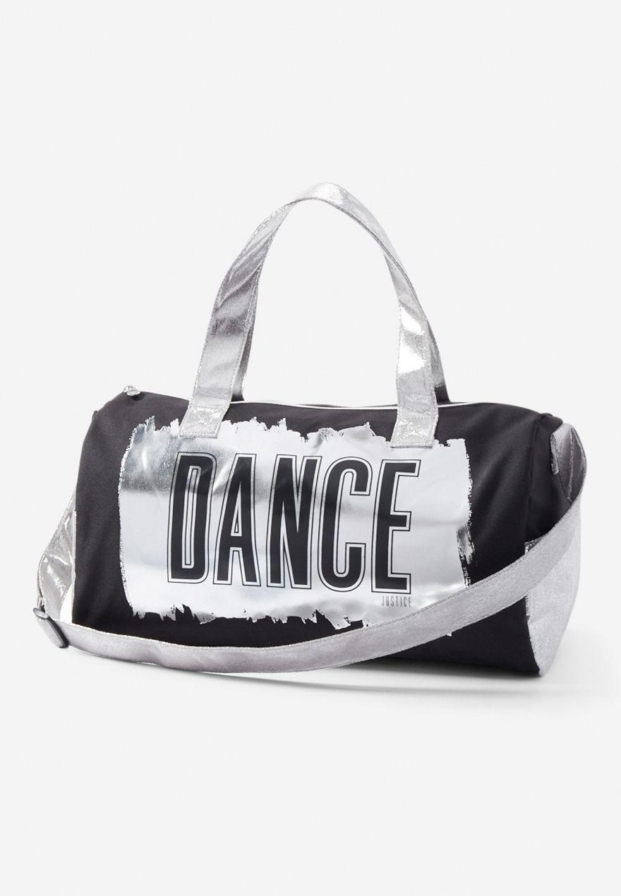 Luxe Metallic Sports Bag