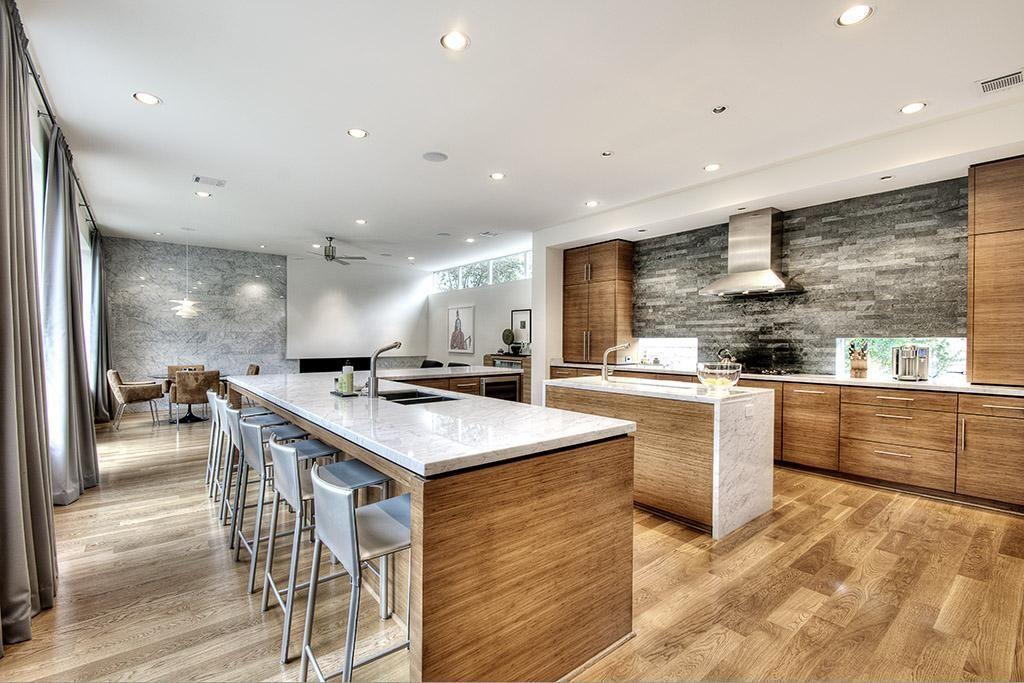 Modern Style House Plan - 4 Beds 4.50 Baths 4541 Sq/Ft Plan #449-13