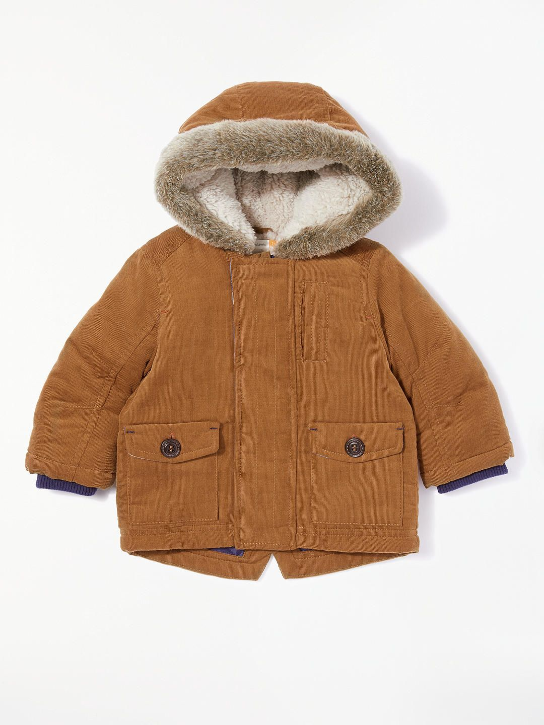54453d62f BuyJohn Lewis   Partners Baby Cord Coat